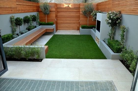 taman minimalis